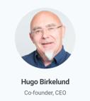 Hugo Birkelund. Co-founder EQ